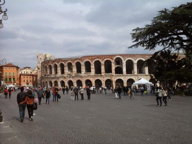 Verona-amfiteatru