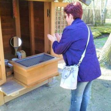 Mic templu Shinto