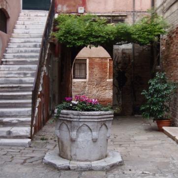 Veneția - curte interioară