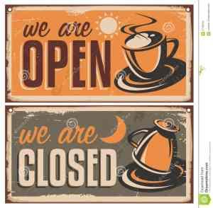 retro-door-signs-coffee-shop-cafe-bar-vintage-metal-creative-template-cup-rusty-old-texture-creative-37159750-min