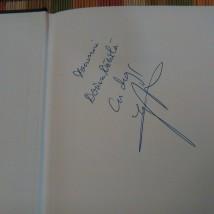Autograful lui Igor Bergler