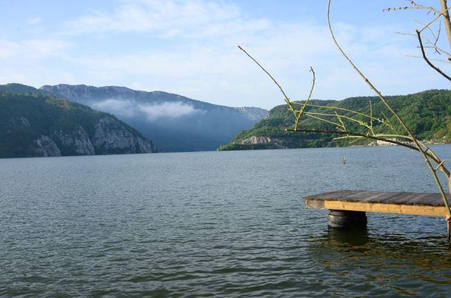 Dunarea la Cazane