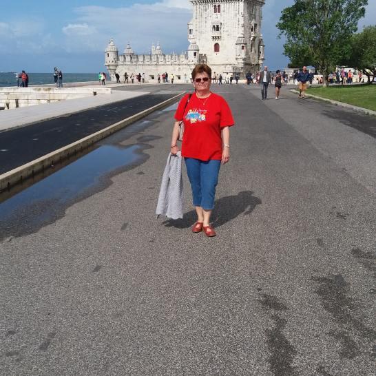 Poza obligatorie cu turnul Belem