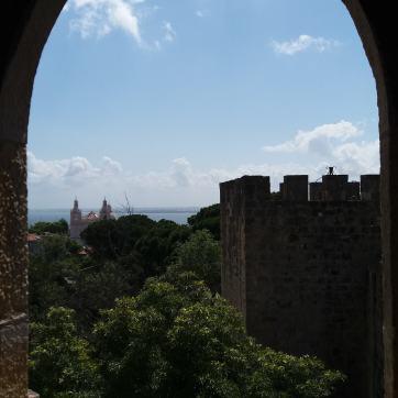 Castel Sao Jorge, Lisabona