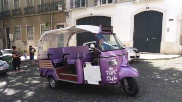 Tuk-tuk - un mijloc de transport comod