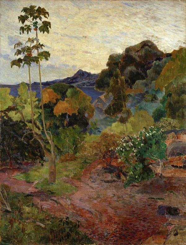 Peisaj din Martinica, 1887
