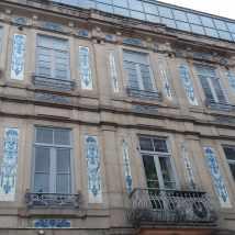 Clădire placată cu azulejos