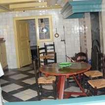 Interiorul unei case tipice din Amsterdam