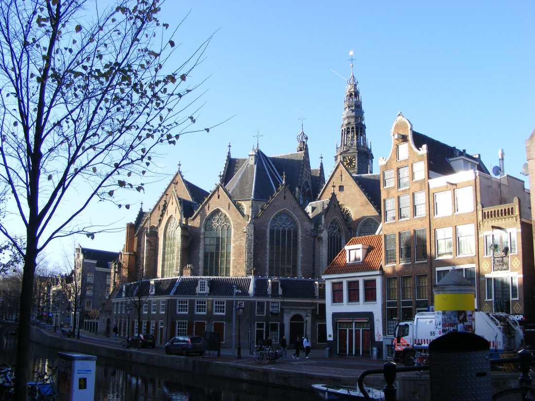 Oude Kerk (Biserica Veche) din Amsterdam