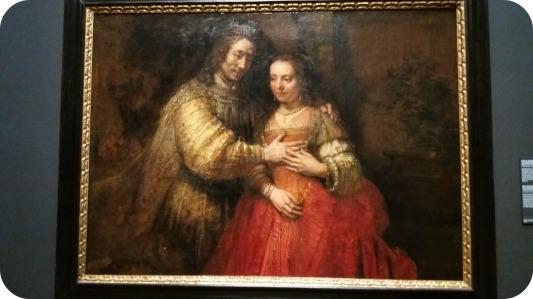 Mireasa evreica, expus la Rijksmuseum Amsterdam