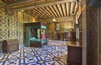 Castelul Blois. Dormitorul reginei Caterina de Medici