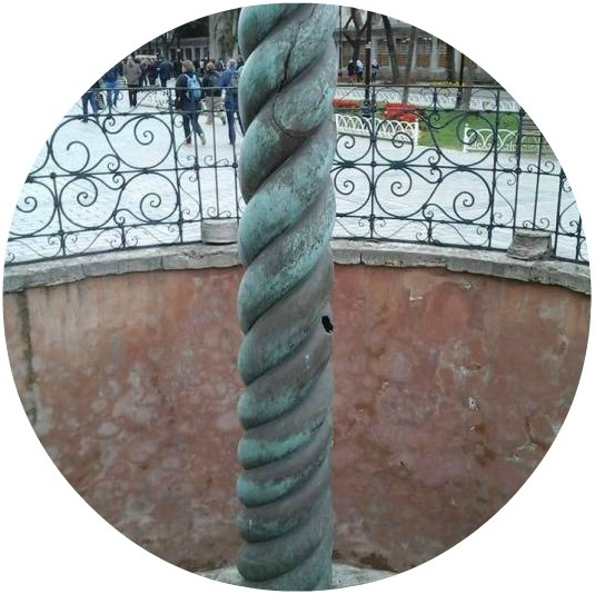 coloana-serpentina