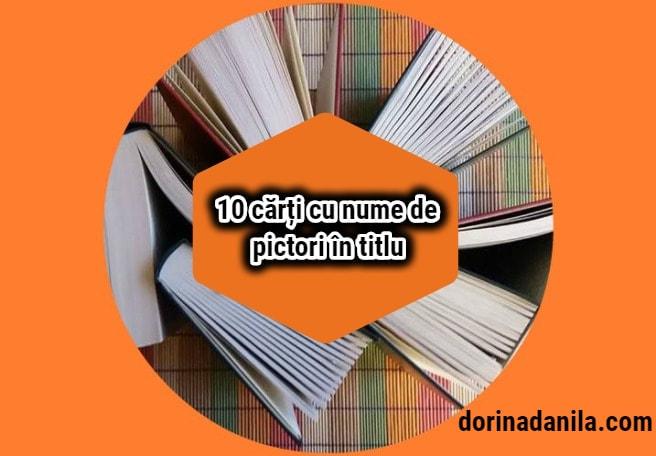 Cărți cu nume de pictori în titlu