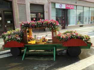 flower-car