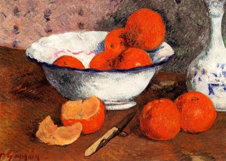 Natură moartă cu portocale