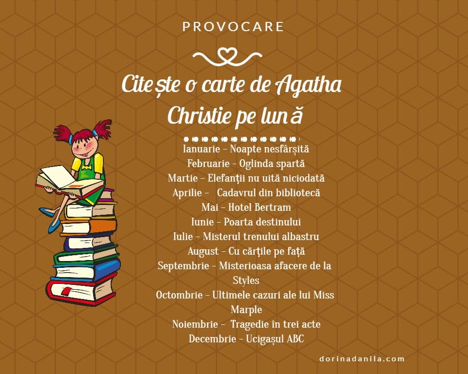 Provocare Agatha Christie