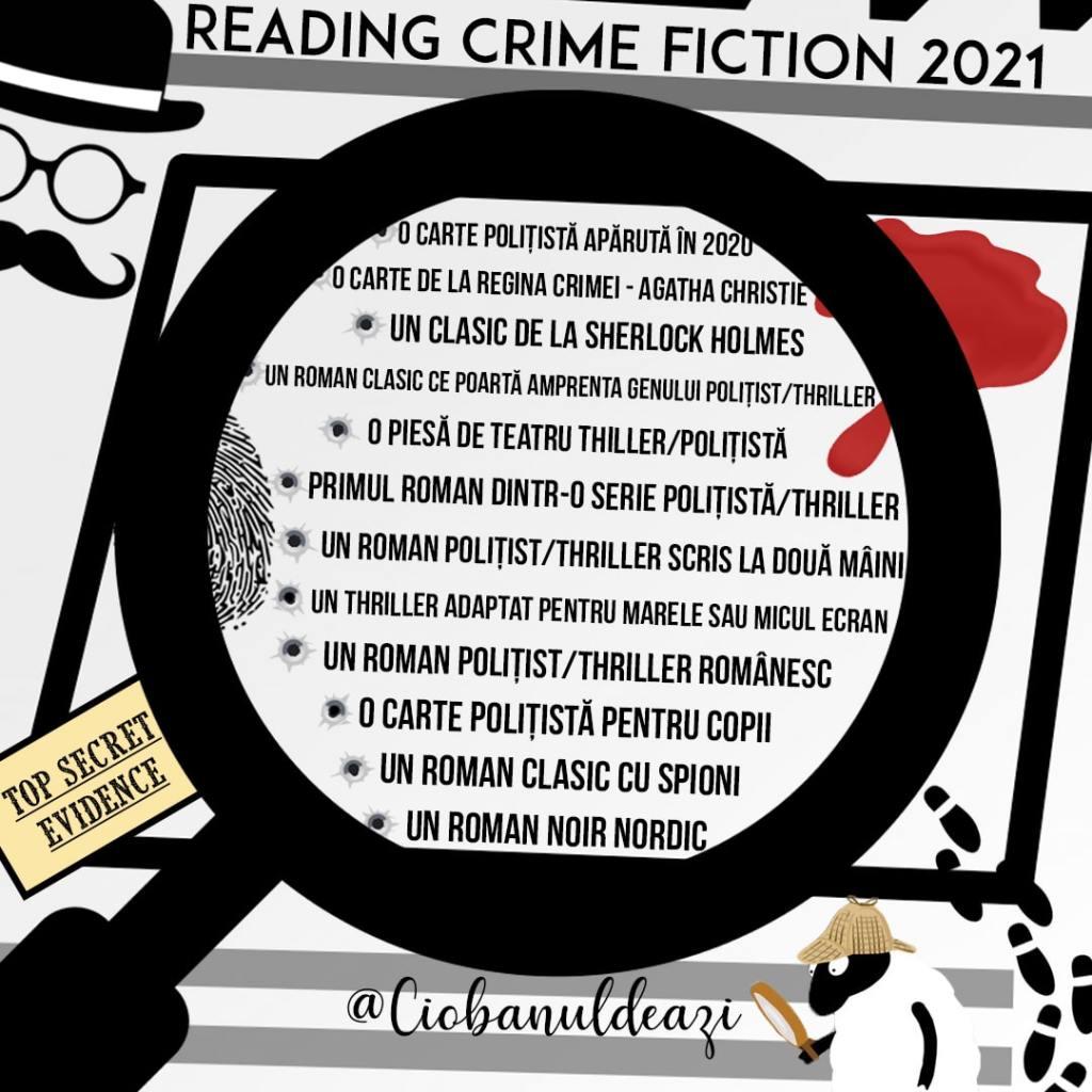 Reading Crime Fiction 2021