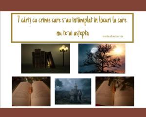 7 cărți cu crime