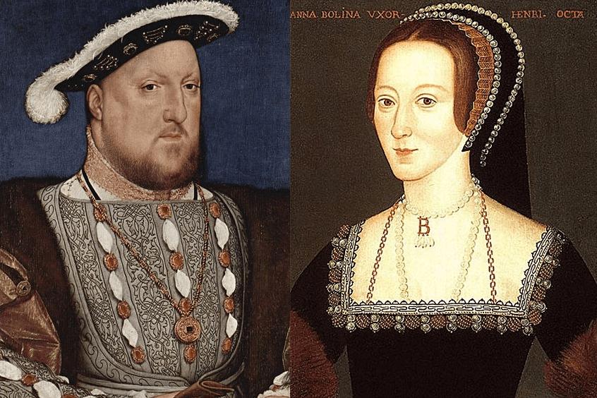 Henric al VIII-lea și Anne Boleyn